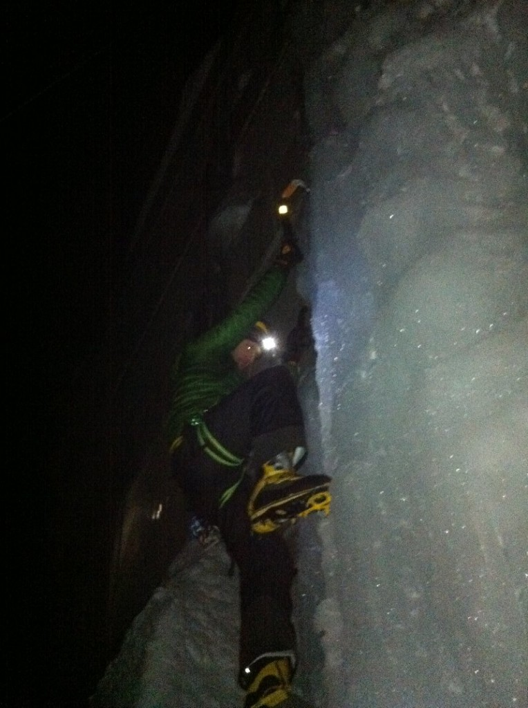 tenjin project ice climbing japan