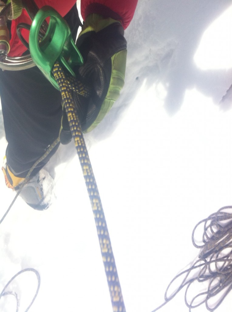 ice climbing japan rope systems