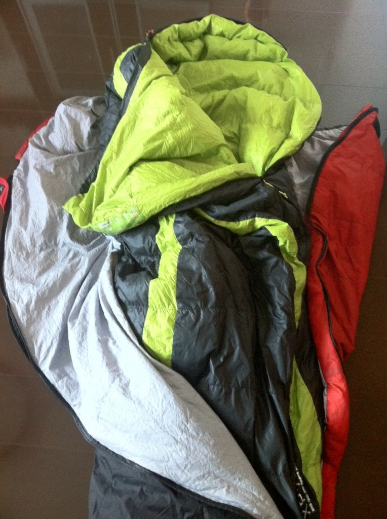double sleeping bag system