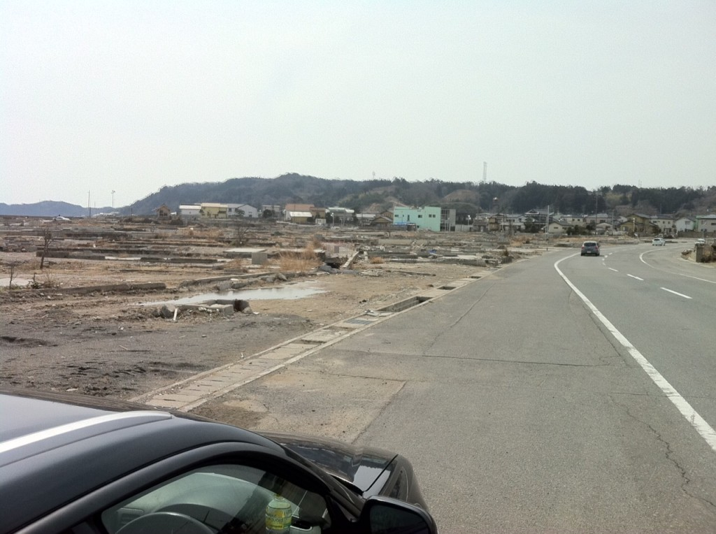 japan tsunami tokohku zone