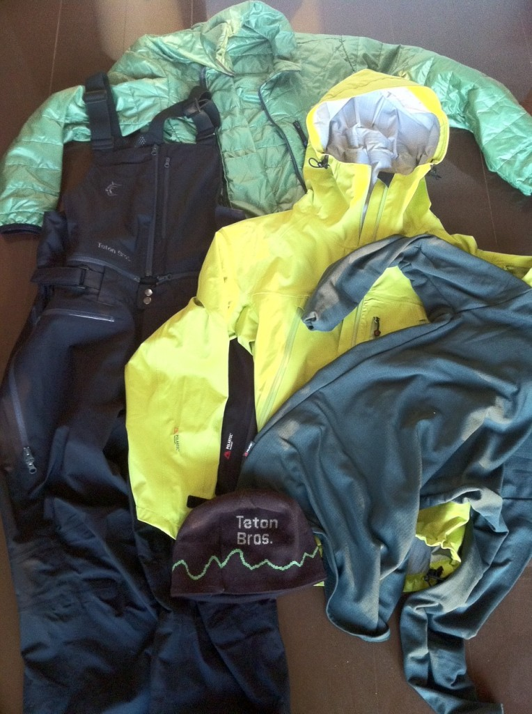 polartec neoshell new jacket pants teton bros