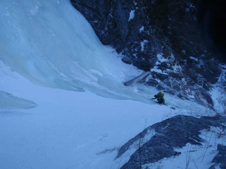 ice climbing training kaikomagatake