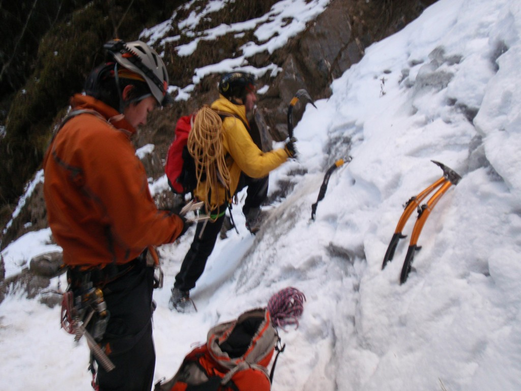 ice climbing training sichuan china