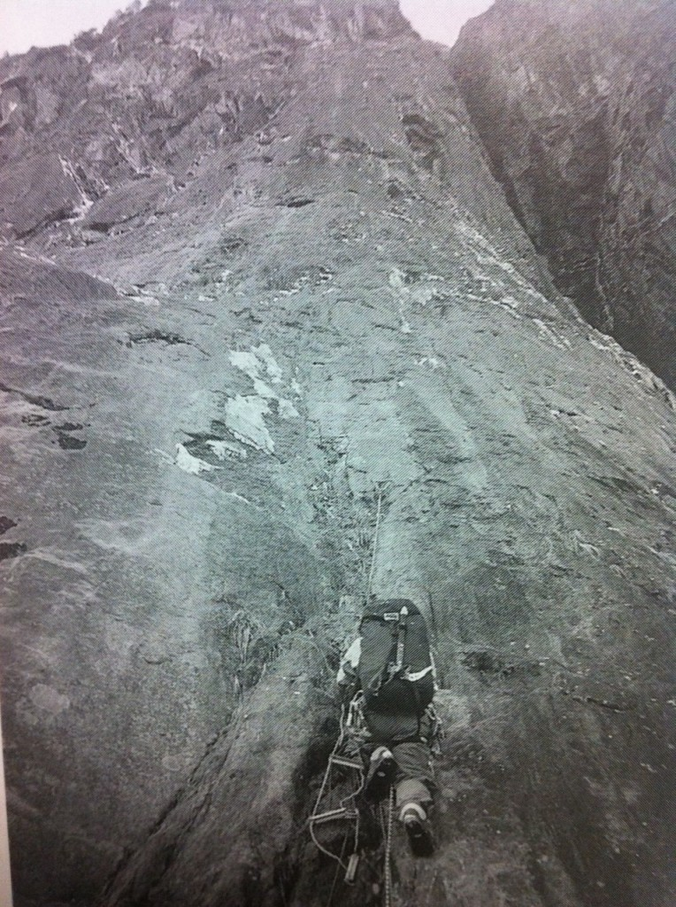 japan climbing alpine walls